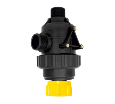 SUCTION FILTER WITH VALVE (Flow rate: 220 lt/min.)
