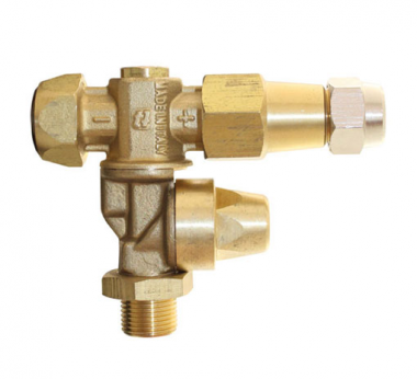 BRASS ADJUSTABLE NOZZLE FOR ATOMIZERS (With Diaphragm Check Valve)