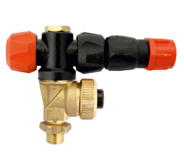 ADJUSTABLE NOZZLE FOR ATOMIZERS (With Diaphragm Check Valve)
