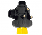 SUCTION FILTER WITH VALVE (Flow rate: 150 lt/min.)