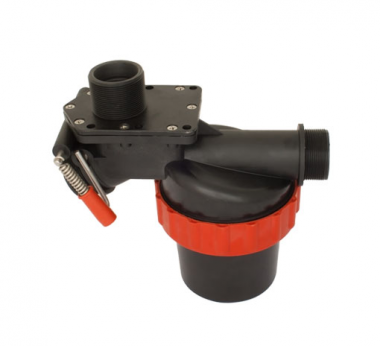 SUCTION FILTER WITH 3 WAY SELECTING VALVE (Flow Rate: 220lt/min.)