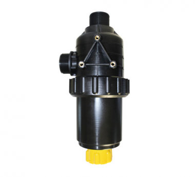 SUCTION FILTER WITH VALVE (Flow rate: 260 lt/min.)