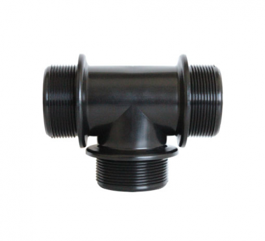 TEE ELBOW WITH MALE THREADED FITTINGS