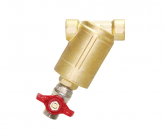 BRASS HIGH PRESSURE LINE FILTER (With Ball Valve)
