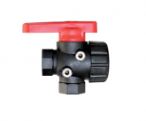 3 WAY BALL VALVE - CONTINUOUS FLOW